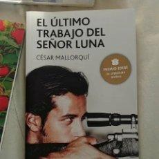 Libros: EL ÚLTIMO TRABAJO DEL SEÑOR LUNA. Lote 156575606