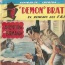 Libros: DEMON BRAT - EL DEMONIO DEL FBI - EDITORIAL TOR. Lote 160581922