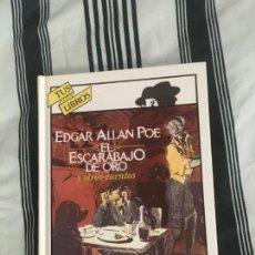 Libros: EL ESCARABAJO DE ORO Y OTROS CUENTOS. ANAYA TUS LIBROS. Lote 168104756
