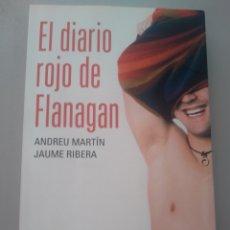 Libros: EL DIARIO ROJO DE FLANAGAN ANDREU MARTÍN JAUME RIBERA DESTINO 9788408052777. Lote 168796270