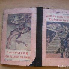 Libros: JULIO VERNE. Lote 168854632