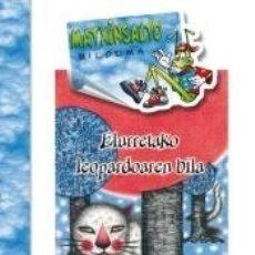 Libros: ELURRETAKO LEOPARDOAREN BILA. Lote 169455081