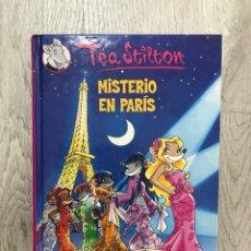 Libros: TEA STILTON MISTERIO EN PARIS / GERONIMO. Lote 171579533