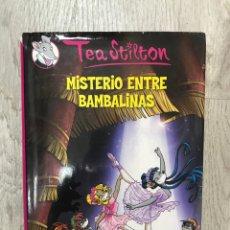 Libros: TEA STILTON MISTERIO ENTRE BAMBALINAS / GERONIMO. Lote 171579643