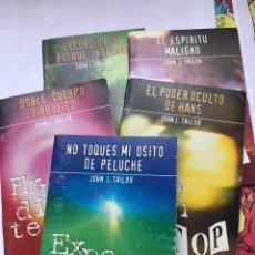Libros: EXPEDIENTES TOP - MISTERIO DE BOLSILLO - AÑOS 90 - 5 NÚMEROS. Lote 173846532