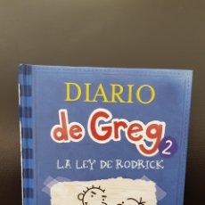 Libros: DIARIO DE GREG 2 LA LEY DE RODRICK. Lote 174522882