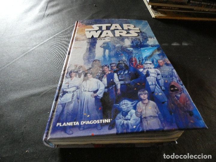 COMIC STAR WARS SAGA COMPLETA PLANETA DE AGOSTI CON DEFECTO, LEER PESA 700 GRAMOS (Libros Nuevos - Literatura Infantil y Juvenil - Literatura Juvenil)