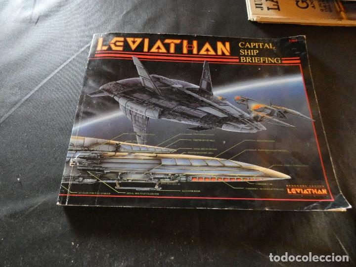 JOYA LIBRO DE ROL EN INGLES 1989 LEVIATHAN CAPTIAL SHIP BRIEFING (Libros Nuevos - Literatura Infantil y Juvenil - Literatura Juvenil)