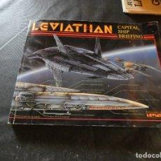 Libros: JOYA LIBRO DE ROL EN INGLES 1989 LEVIATHAN CAPTIAL SHIP BRIEFING . Lote 178909042