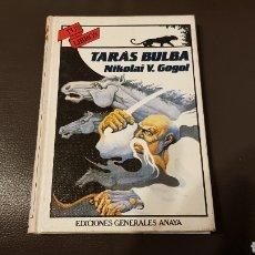 Libros: TUS LIBROS ANAYA TARÁS BILBA NIKOLAI V. GOGOL. Lote 180039305