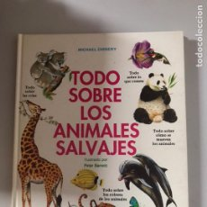 Libros: TODO SOBRE ANIMALES SALVAJES. Lote 180874946