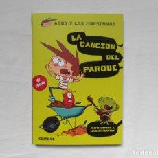 Livros: AGUS Y LOS MONSTRUOS - LA CANCION DEL PARQUE - NUEVO - JAUME COPONS - COMBEL. Lote 182391700