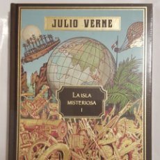 Libros: LIBRO / JULIO VERNE / LA ISLA MISTERIOSA I RBA 2014 NUEVO. Lote 204240621