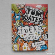 Libros: TOM GATES 4 IDEAS CASI GENIALES - NUEVO. Lote 184437740