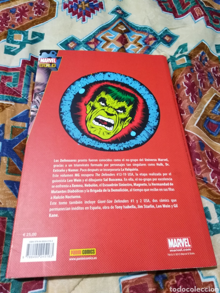Libros: Marvel gold los defensores ¿ y quien heredará la tierra ? - Foto 2 - 184496017