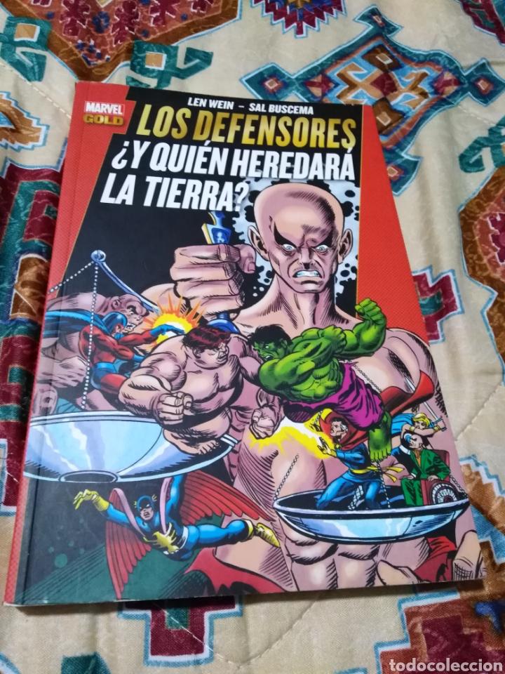 MARVEL GOLD LOS DEFENSORES ¿ Y QUIEN HEREDARÁ LA TIERRA ? (Libros Nuevos - Literatura Infantil y Juvenil - Literatura Juvenil)