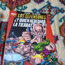 Libros: MARVEL GOLD LOS DEFENSORES ¿ Y QUIEN HEREDARÁ LA TIERRA ?. Lote 184496017