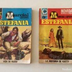 Libros: LOTE 2 NOVELAS DE ESTEFANIA. VIDA DEL HUIDO Y LA HISTORIA DE KATTY, ED. BRUGERA. Lote 176844703