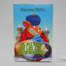 Libros: GERONIMO STILTON - EL MISTERI DE LES SET MATRIOIXQUES - NUEVO - CATALAN . Lote 184931781