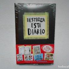Libros: DESTROZA ESTE DIARIO - NUEVO. Lote 184931872