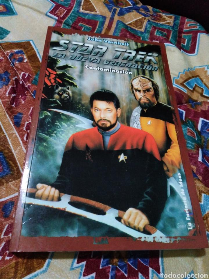 Libros: Star trek la nueva generación ( 3 libros ) - Foto 3 - 185492932