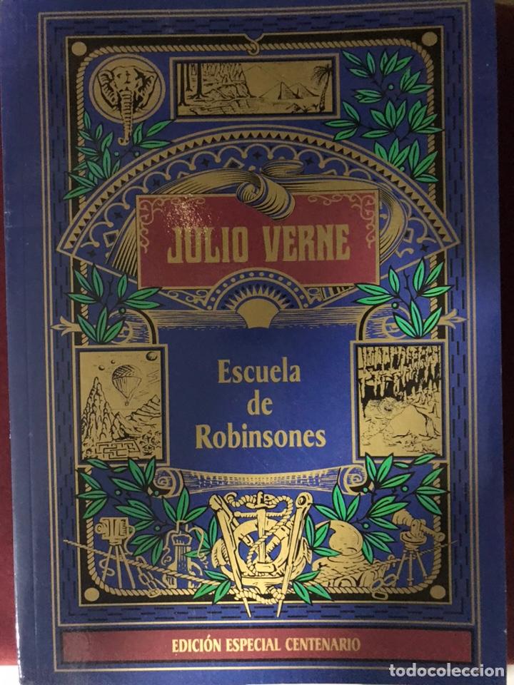 JULIO VERNE ESCUELA DE ROBINSONES (Libros Nuevos - Literatura Infantil y Juvenil - Literatura Juvenil)