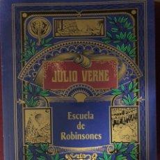 Libros: JULIO VERNE ESCUELA DE ROBINSONES. Lote 185899805
