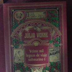 Libros: JULIO VERNE VEINTE MIL LEGUAS DE VIAJE SUBMARINO I. Lote 185899952