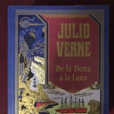 Libros: JULIO VERNE DE LA TIERRA A LA LUNA. Lote 185900700