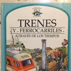 Libros: SIDNEY WOOD: TRENES Y FERROCARRILES. Lote 187399808