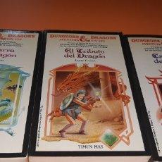 Libros: LOTE DE LIBROS DRAGONES Y MAZMORRAS. Lote 187507928