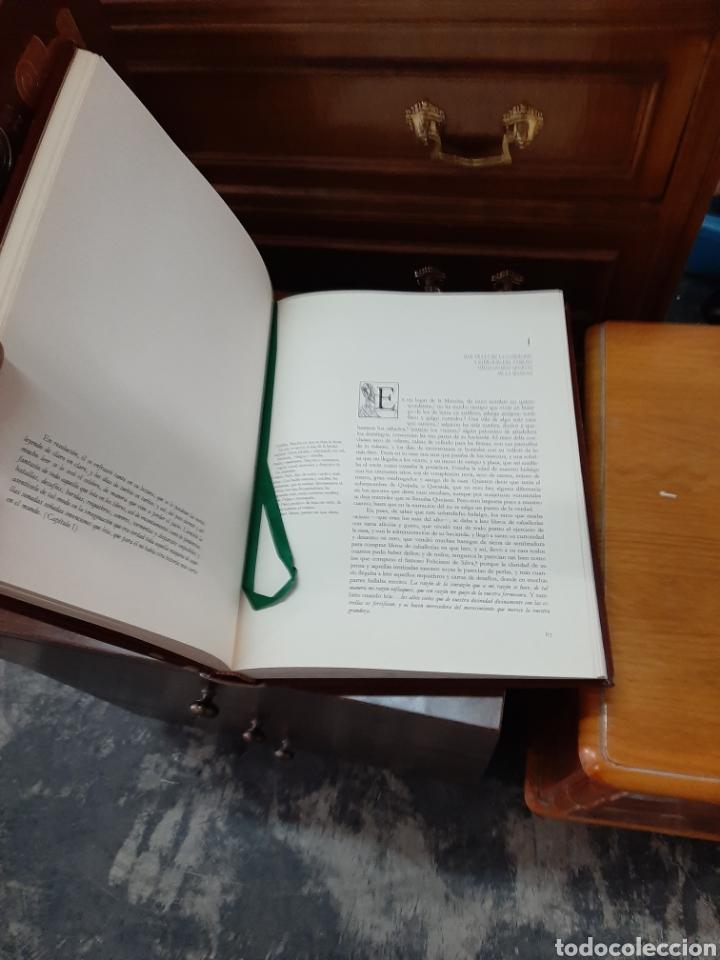 Libros: El ingenioso hidalgo don Quijote de la mancha, ediciones Carroggio. 4 volúmenes. - Foto 4 - 188723398