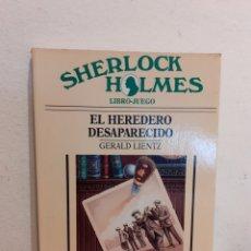 Livros: SHERLOCK HOLMES EL HEREDERO DESAPARECIDO. Lote 192144991