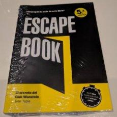 Libros: LIBRO ESCAPE BOOK. Lote 192277338