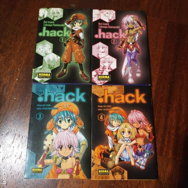 HACK COMPLETA 4 NUMEROS (Libros Nuevos - Literatura Infantil y Juvenil - Literatura Juvenil)