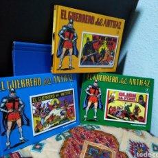 Libros: LOTE DE 3 LIBROS EL GUERRERO DEL ANTIFAZ NÚMEROS 1,2 Y 3 ( PLANETA DE AGOSTINI ). Lote 192841250