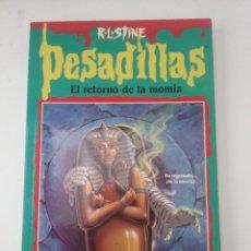 Livros: PESADILLAS Nº 33 EL RETORNO DE LA MOMIA. DE R.L. STINE. Lote 193964431