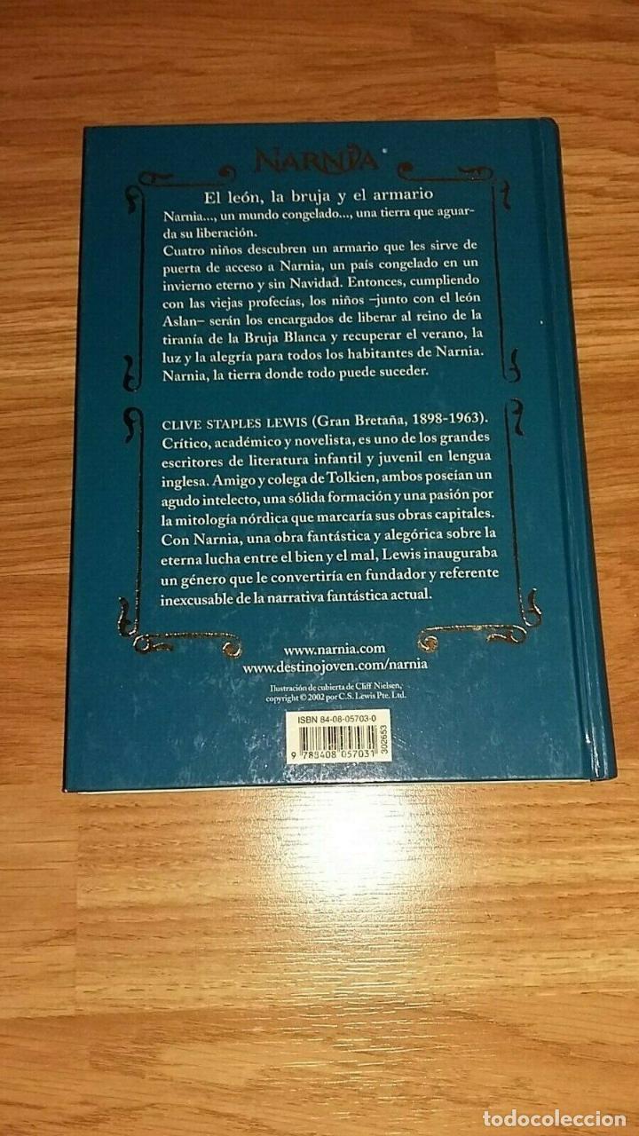 Libros: LIBRO LAS CRONICAS DE NARNIA - EL LEON, LA BRUJA Y EL ARMARIO - Foto 2 - 193969200