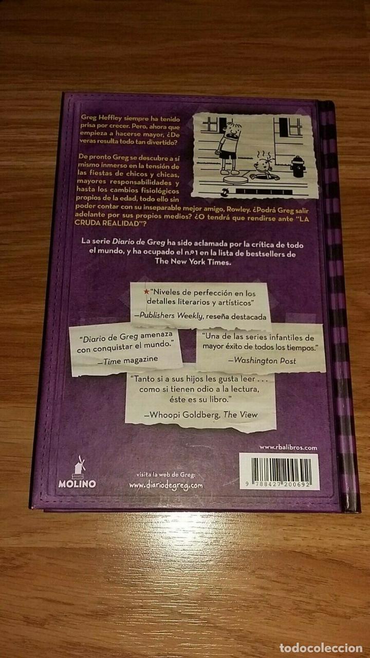 Libros: LIBRO DIARIO DE GREG 5 - LA CRUDA REALIDAD - Foto 2 - 193969266