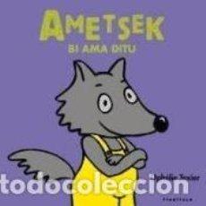 Libros: AMETSEK BI AMA DITU. Lote 194887576