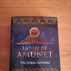 Libros: LIBRO 'LA VOZ DE AMUNET'. Lote 195027302