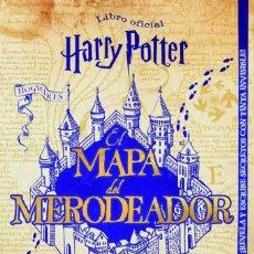 Livres: HARRY POTTER: EL MAPA DEL MERODEADOR - MAGAZZINI SALANI - NUEVO. Lote 196141211