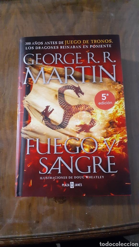 GEORGE R. R. MARTIN FUEGO Y SANGRE 5 EDICIÓN ILUSTRADO NUEVO! (Libros Nuevos - Literatura Infantil y Juvenil - Literatura Juvenil)