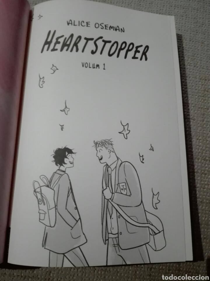 Libros: Heartstopper. Noi coneix noi. Alice oseman. 2020. Cómic en catalán. Nuevo - Foto 3 - 196817992