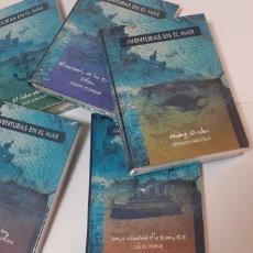 Libros: LOTE DE 5 LIBROS DE JULIO VERNE,CONRAD,MELVILLE,SALGARI,LONDON. Lote 197450518