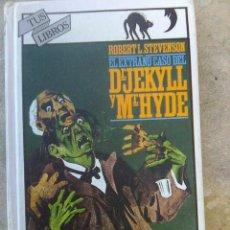 Livros: EL EXTRAÑO CASO DE DR. JEKYLL Y MR. HYDE - ROBERT L. STEVENSON - EDICION ANAYA, COLECCIÓN TUS LIBROS. Lote 199192080
