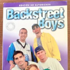 Libros: BACKSTREET BOYS SUPER STARS MICHAEL HEATLEY EDICIONES B NO AUTORIZADA 1998. Lote 199525558
