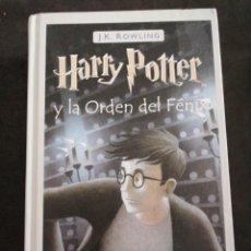 Libros: HARRY POTTER Y LA ORDEN DEL FÉNIX. Lote 201351561