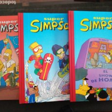 Libros: SÚPER SIMPSON 3 VOLÚMENES, NUEVOS. Lote 201529821