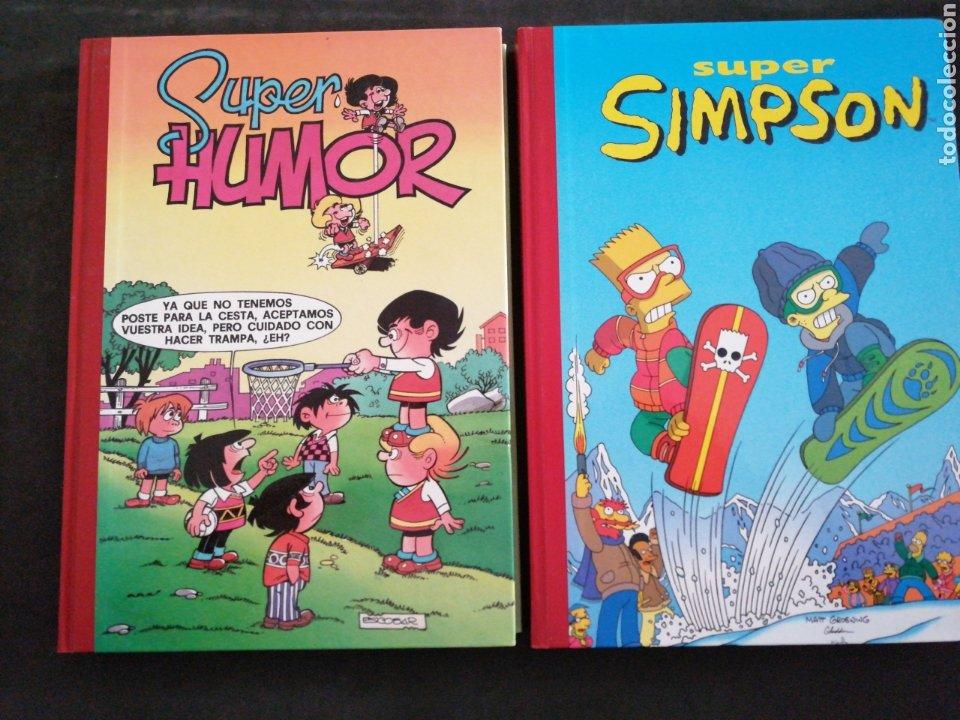DOS VOLÚMENES, SÚPER HUMOR N 1 Y SÚPER SIMPSON N 5.. NUEVOS (Libros Nuevos - Literatura Infantil y Juvenil - Literatura Juvenil)